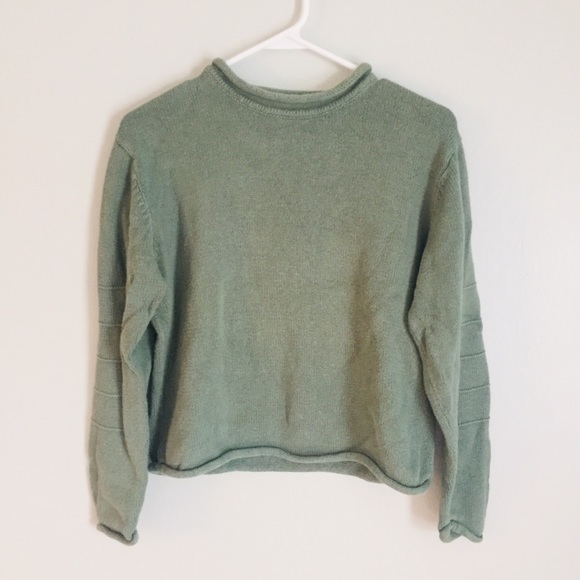 Christopher & Banks Sweaters - Khaki Green Sweater